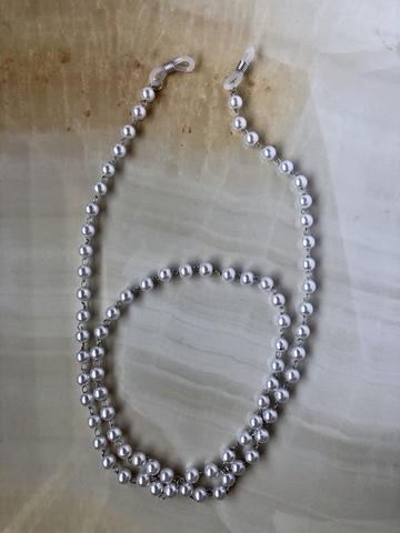 Цепочка для очков Джента, серебряный цвет