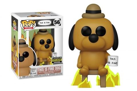 Funko Pop! This is Fine Dog (Exc)