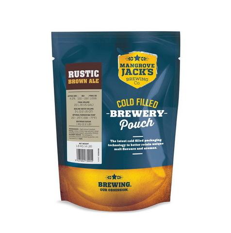 Пивной набор Mangrove jack's - Rustic brown ale 1,8 кг до 23 л