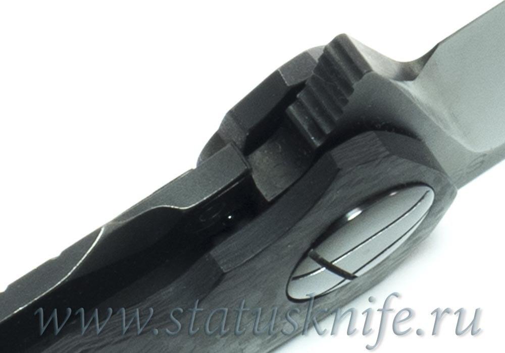 CKF Asymmetric Maxi DLC folder (Alexey Konygin design, S90V, titanium, CF) - фотография
