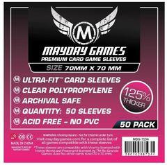Протекторы для настольных игр Mayday Premium Small Square Card (70x70) - 50 штук
