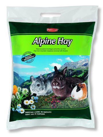Padovan Сено ALPINE HAY  альпийские травы для грызунов 700 г