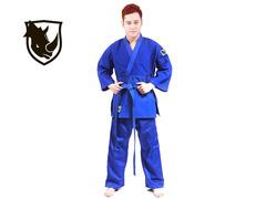 Кимоно дзюдо RHINO. Цвет синий. Размер 28-30. Рост 115.