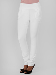 7921 брюки женские, белые
