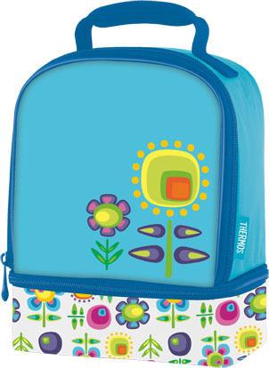 Термосумка детская Thermos Floral Dual голубая