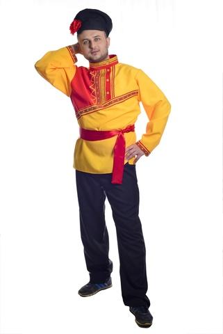 Костюм Барин в жёлтой рубахе