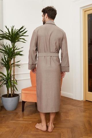 Мужской облегченный халат из вискозы 55224  Laete