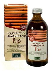 Ardes Масло обогощенное миндалем. 100 % Био (младенцы и беременные) (Olio Ricco di mandorle 100 % BIOLOGICO), 200 мл
