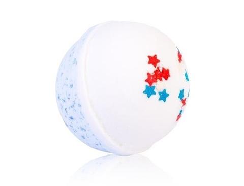 Гейзер макси-шар Настоящему Мужчине для ванн с морской солью и маслами, d 9см,280±15гр. TMChocoLatte