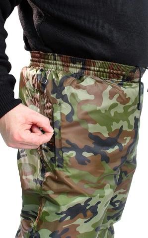 Брюки камуфляжные утеплённые Оксфорд зеленый КМФ
