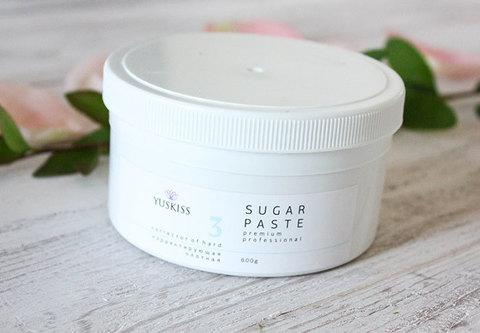 Сахарная паста на фруктозе для шугаринга YUSKISS 600гр (Корректор плотный)