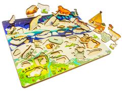 Набор Под Большой Медведицей, Арктика в 3D на твоем столе, Нескучные игры