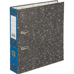 Папка-регистратор Attache 75 мм мрамор/синий корешок