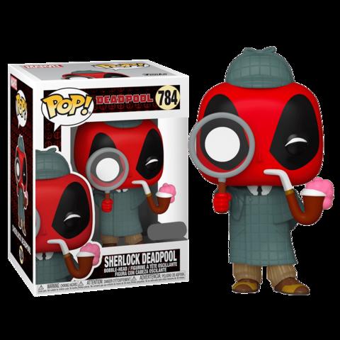 Deadpool 30th Sherlock Deadpool (Exc) Funko Pop! Vinyl Figure || Дэдпул Шерлок