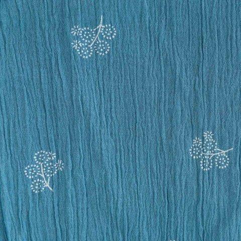Ткань Bambula Print S/S — PROVINCIAL BLUE