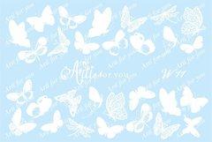 Слайдер наклейки Arti for you цвет белый №W11