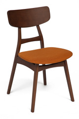 Стул мягкое сидение/ оранжевый Рон (Рон (RON))  — коричневый