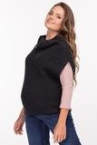Жилет для беременных 09833 темно-серый