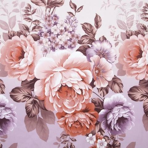 Комплект постельного белья Карамельная роза DE LUXE