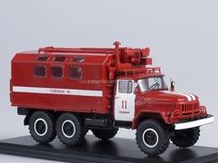 ZIL-131 KUNG Fire Engine 1:43 Start Scale Models (SSM)