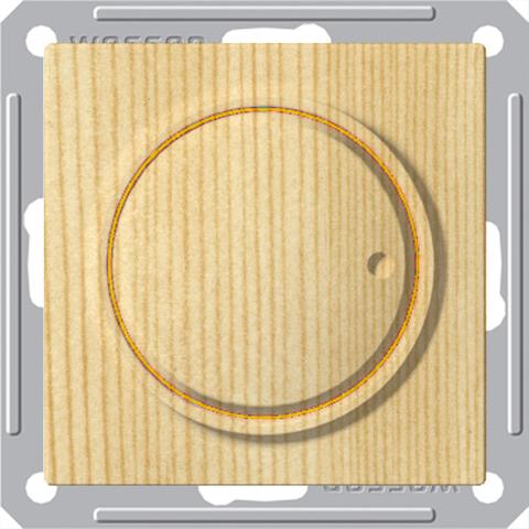 Светорегулятор/Диммер поворотный, 300Вт, 230В. Цвет Сосна. Schneider Electric Wessen 59. SR-5S0-7-86