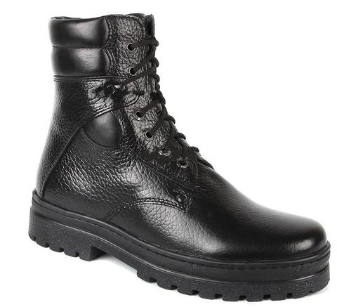 Ботинки кожаные Боец Милитари (лето-осень)