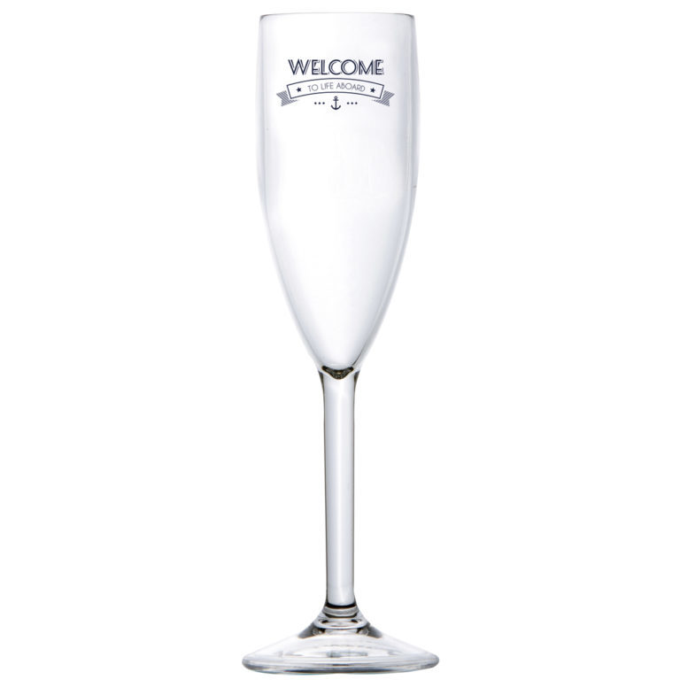 CHAMPAGNE GLASS, PARTY – WELCOME TO LIFE – MS