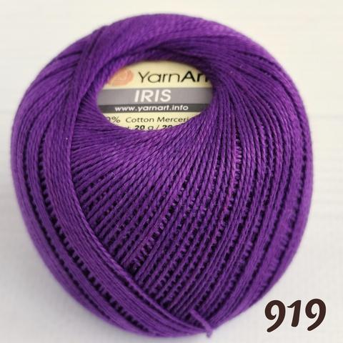 YARNART IRIS 919, Темный сиреневый