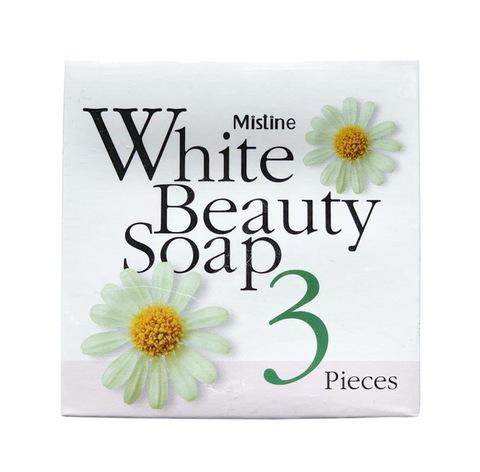 Мыло для лица и тела (3 штуки) Mistine White Beauty soap, 3/70 гр.