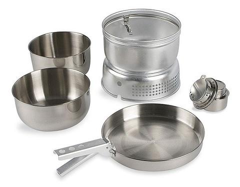 Картинка набор посуды Tatonka MULTI SET+ALC.BURN  - 1