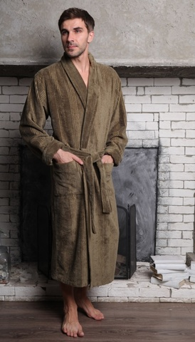 Махровый халат из бамбука Valentino (EFW)