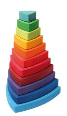 Пирамида Ванкель радужная (Grimms)