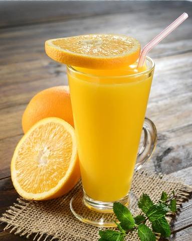 Сок натуральный апельсиновый  восстановленный