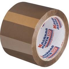 Скотч клейкая лента упаковочная коричневая 75 мм x 66 м толщина 47 мкм