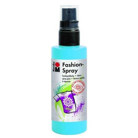 Краска-спрей для хлопка и льна Marabu-Fashion Spray 141 Небесно-голубой