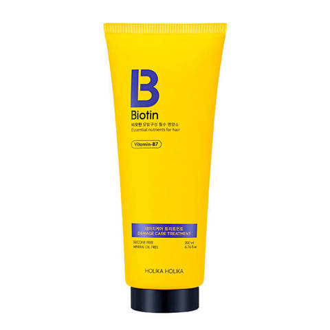 Маска -кондиционер для волос  Biotin Damage Care Treatment, 200 мл, Holika Holika