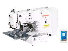Фото: Многофункциональная компьютеризированная автоматическая машина циклического шитья TOPSEW TS2210-26 с полем шитья 22*10 см