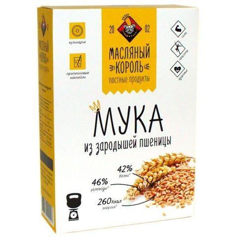 Мука зародышей пшеницы, Масляный король, 300 г