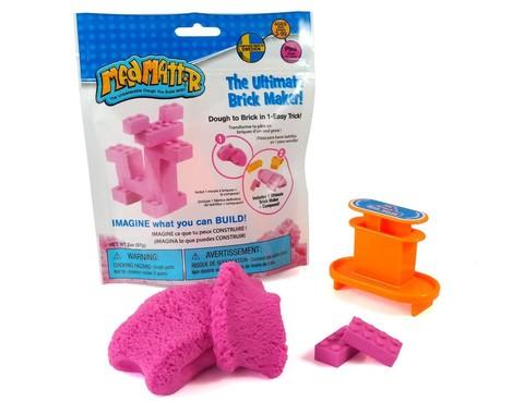 Мини набор Mad Mattr Строительство из кирпичиков, розовый, 57 г