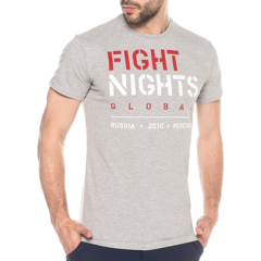 Футболка Fight Nights Global серая