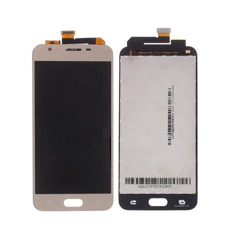 LCD SAMSUNG J5 Prime G570 + Touch Gold Orig MOQ:5