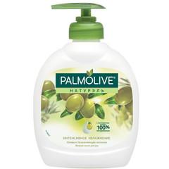 Мыло жидкое Palmolive Интенсивное увлажнение Олива и Увлажняющее молочко 300 мл