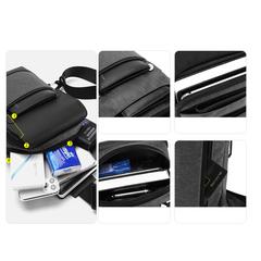 Однолямочный рюкзак  ARCTIC HUNTER XB00112 USB