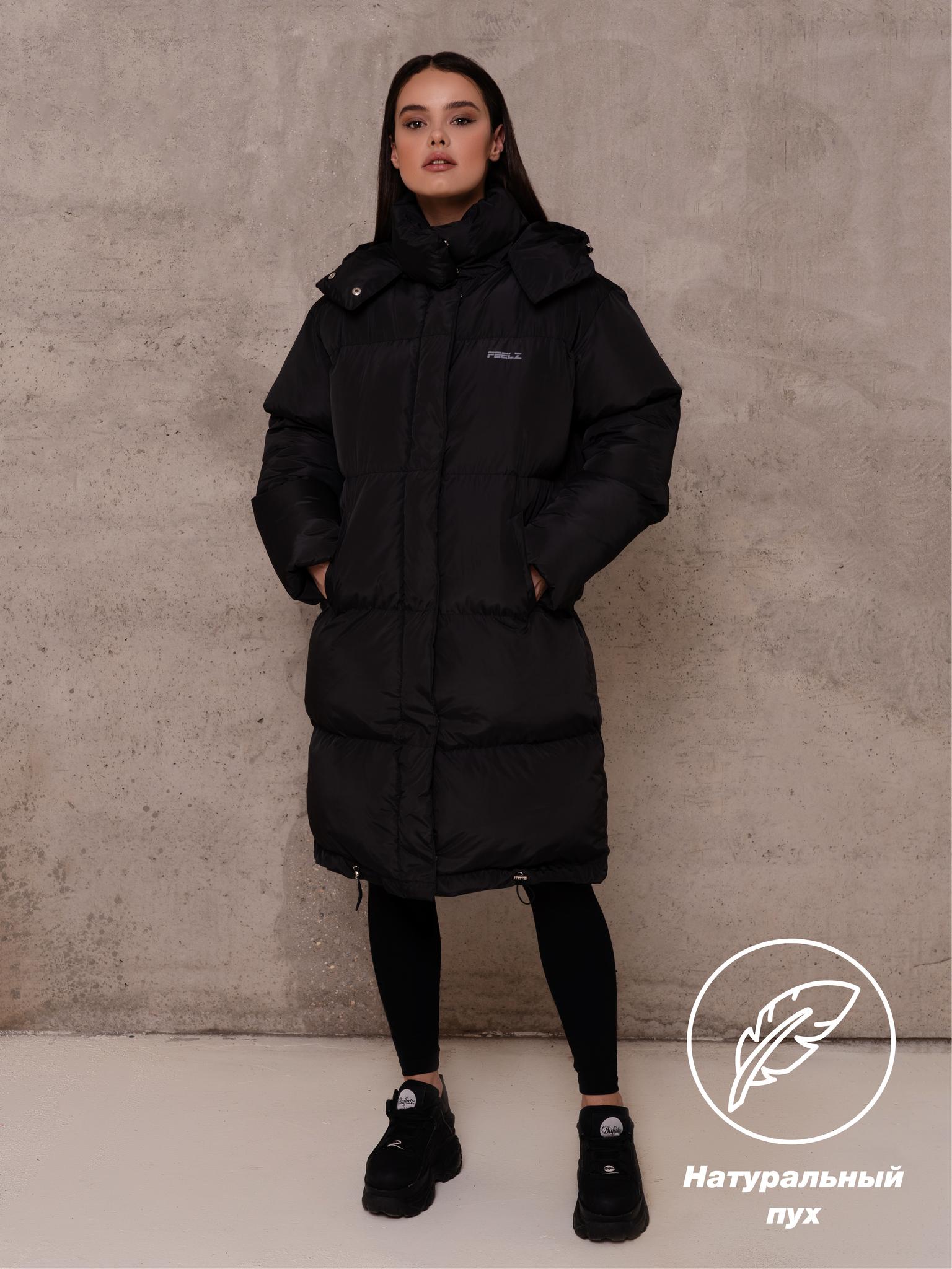 Куртка пуховик Feelz Edge, Черный