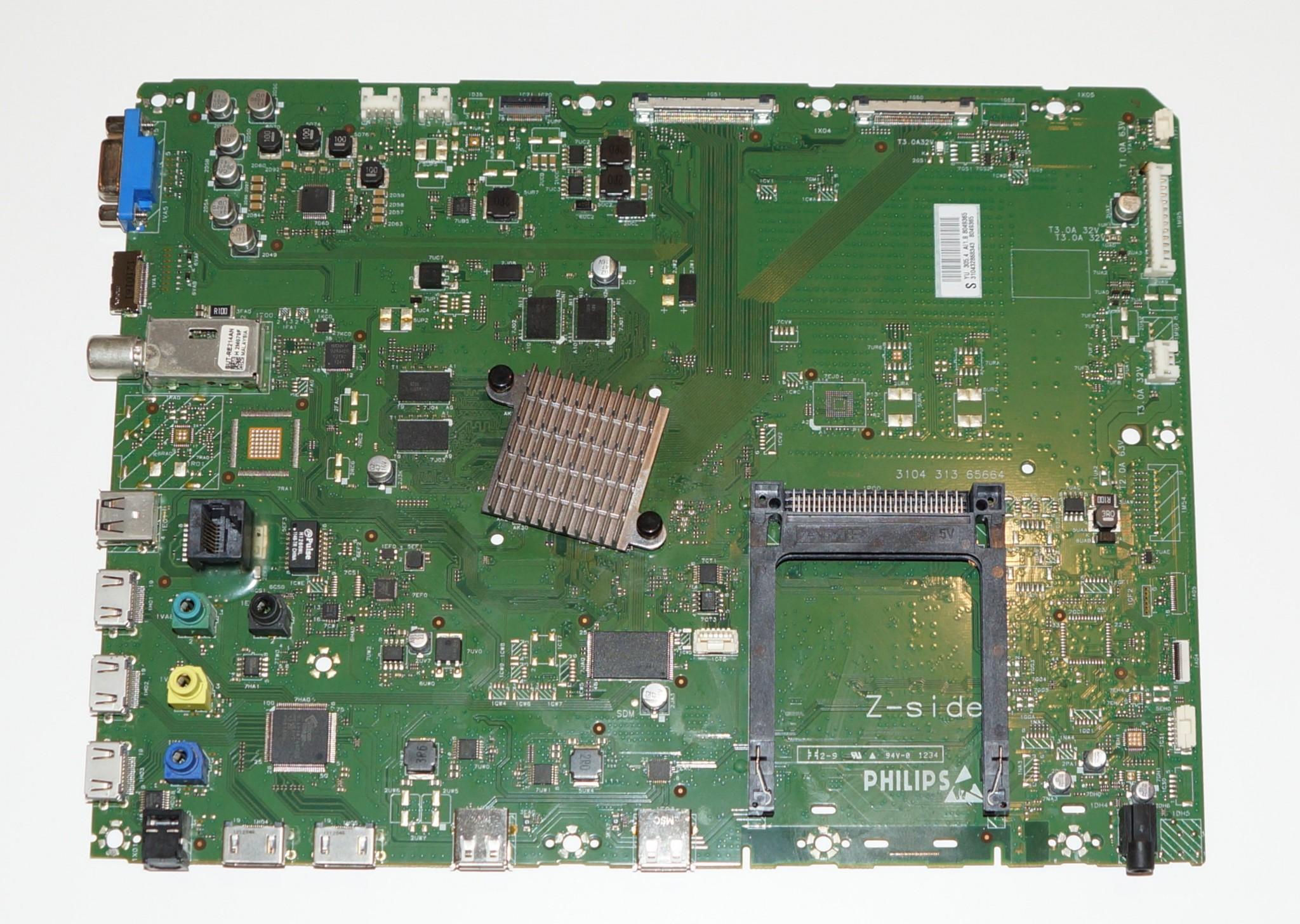 3104 313 65664 310432868343 / 310432868341 купить main телевизора Philips