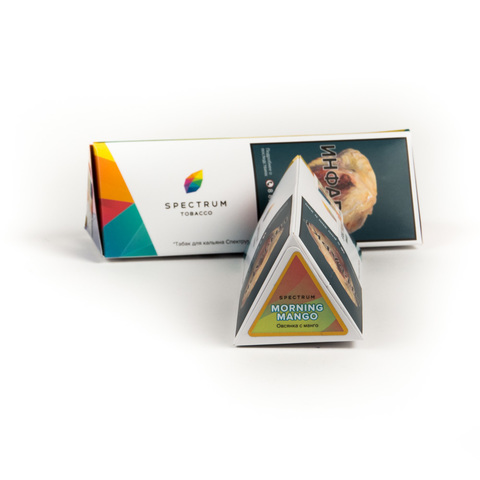 Табак Spectrum Morning Mango (Овсянка манго) 100 г