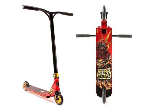 Самокат Lucky Jon Marco Gaydos Signature Pro Scooter Red/Gold