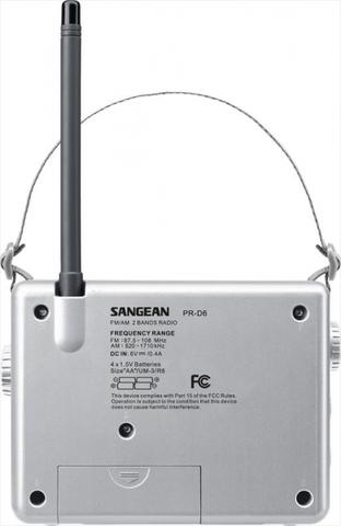 Sangean PR-D6
