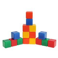 Набор цветных кубиков,16 шт.
