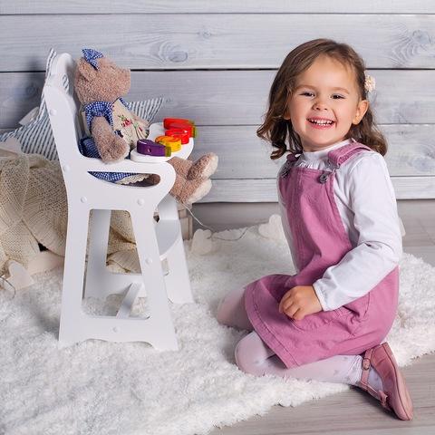 Стульчик Lilu для кормления куклы до 50 см (Baby Born, Annabell) бирюзовый